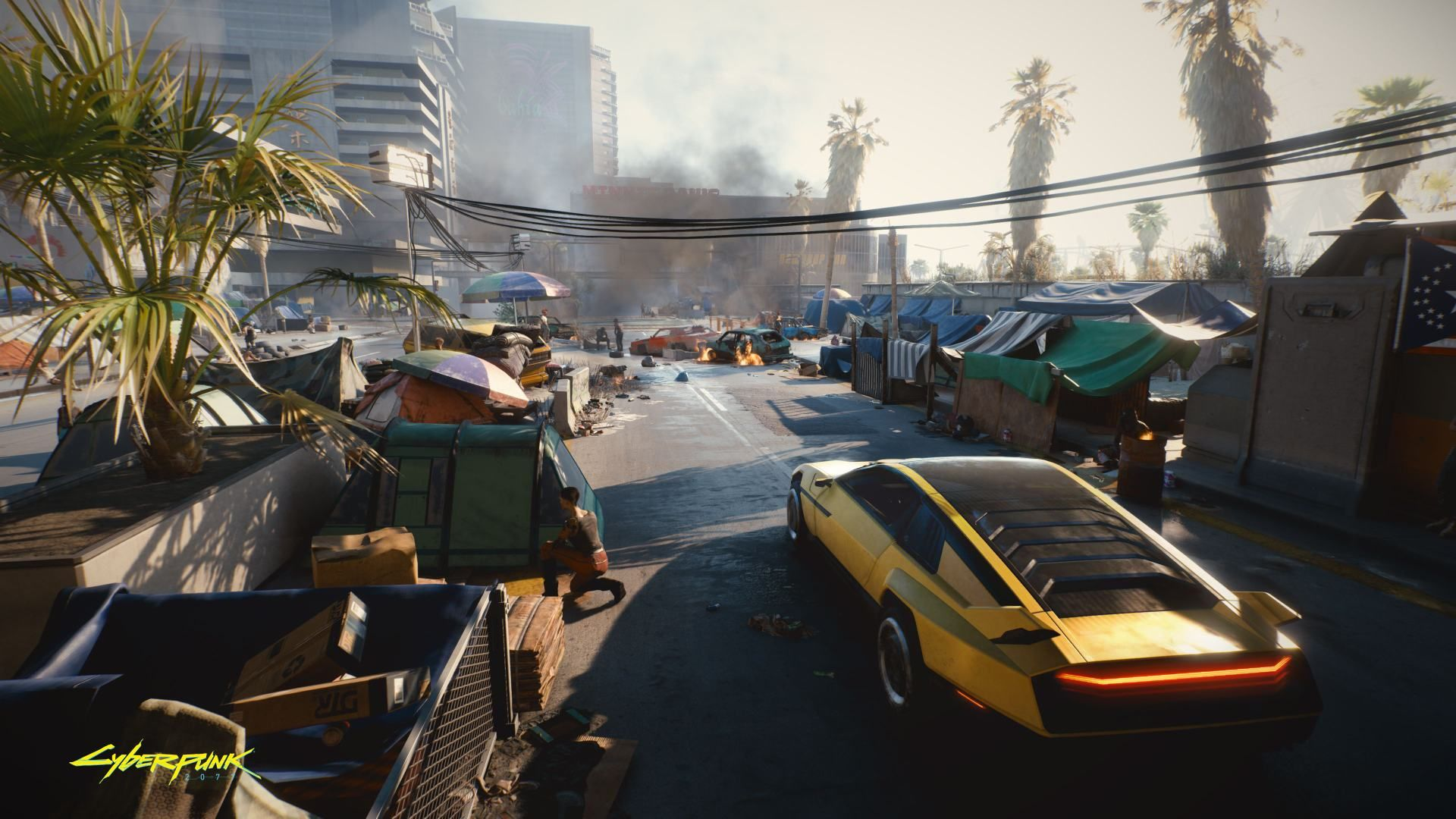 Illustration de l'article sur Cyberpunk 2077