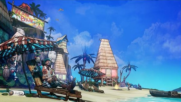 Illustration de l'article sur Borderlands 2, Sir Hammerlock contre le Fils de Crawmerax