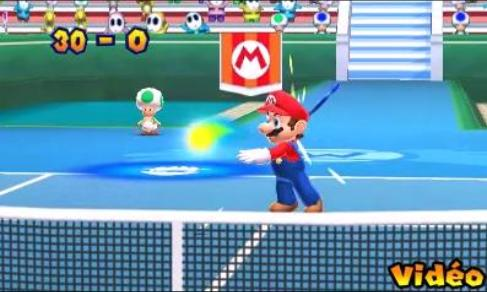 Illustration de l'article sur Mario Tennis Open