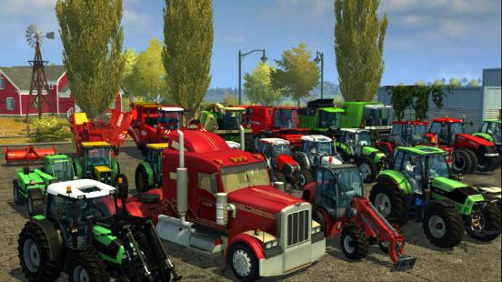 Illustration de l'article sur Farming Simulator