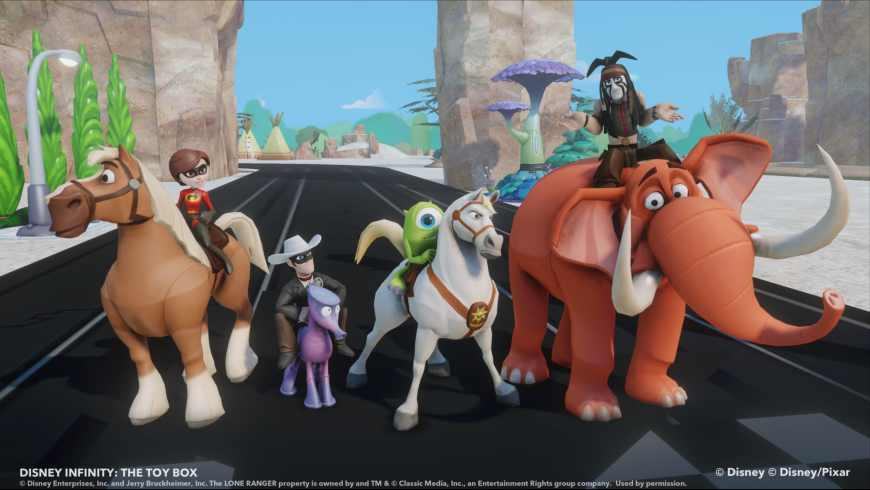 Illustration de l'article sur Disney Infinity