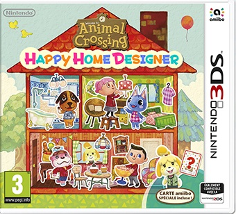 Retrouvez notre TEST : Animal Crossing Happy Home Designer  - 15/20