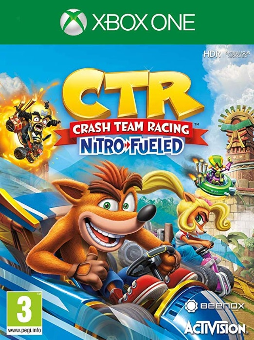 Retrouvez notre TEST : Crash Team Racing Nitro-Fueled
