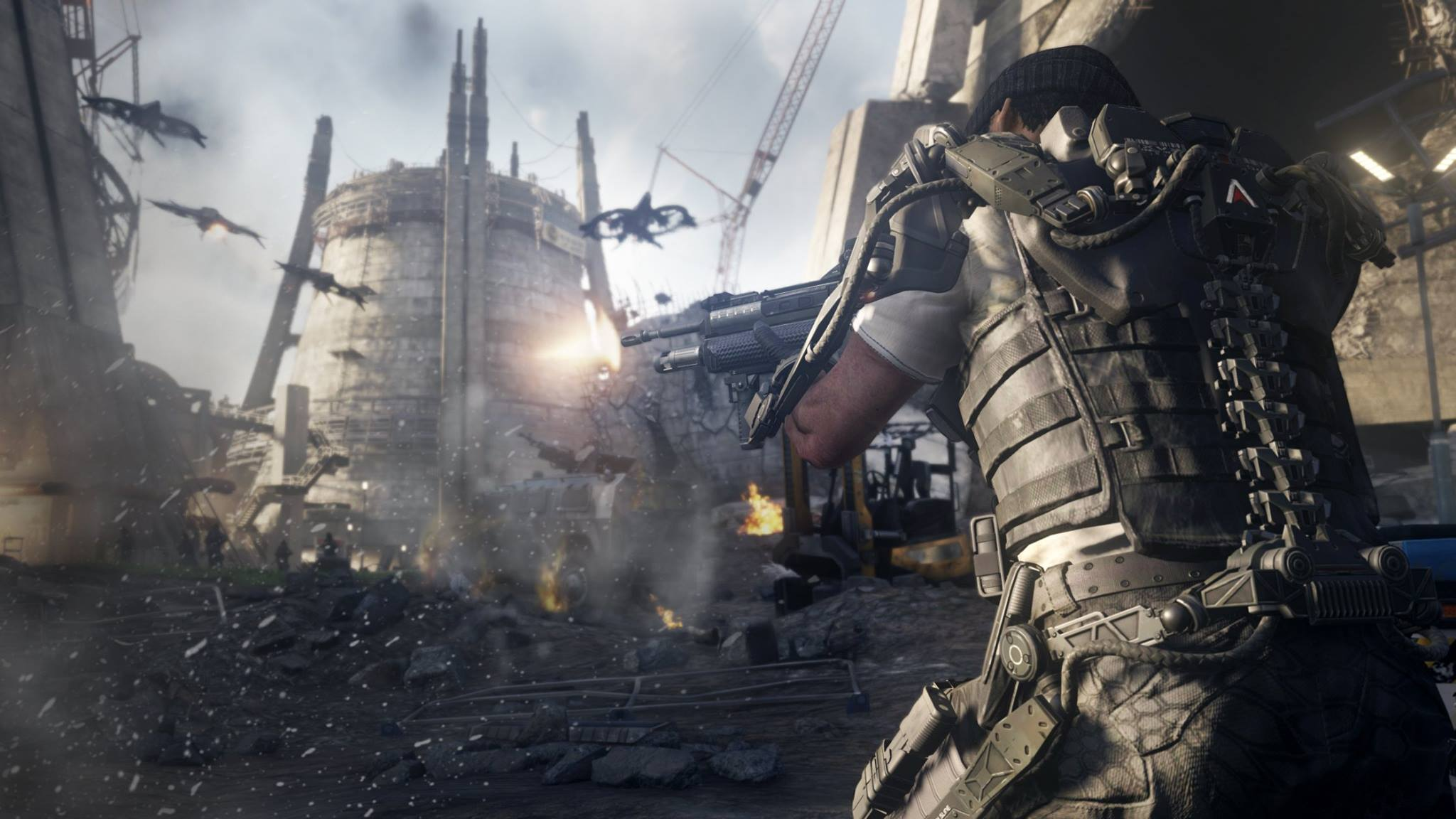 Illustration de l'article sur Activision dévoile en vidéoCall of Duty Advanced Warfare