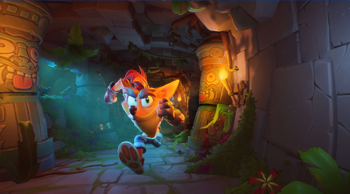 Illustration de l'article sur Crash Bandicoot 4 :It's About Time