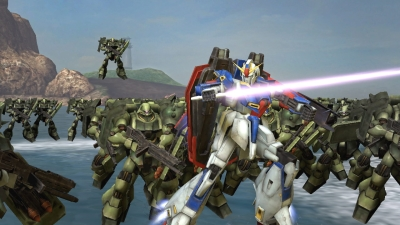 Illustration de l'article sur Dynasty Warriors: Gundam Reborn annoncé sur PS3