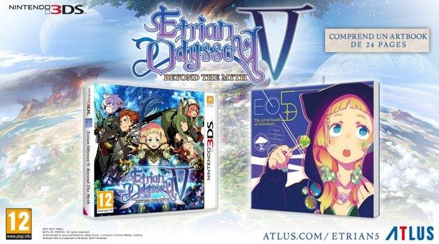 Illustration de l'article sur Etrian Odyssey V : Beyond The Myth est disponible