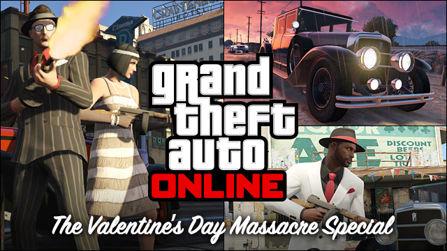 Illustration de l'article sur GTA Online : Le Pack Massacre de la St Valentin arrive