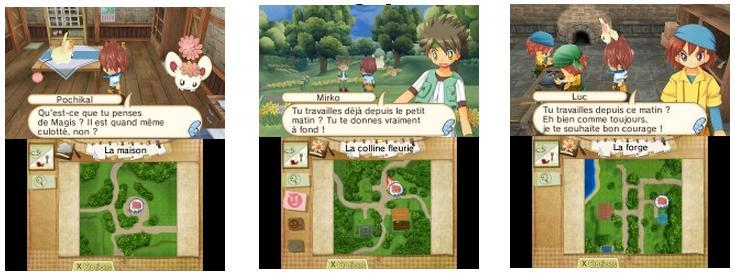 Illustration de l'article sur Hometown Story : disponible au mois d'avril sur Nintendo 3DS