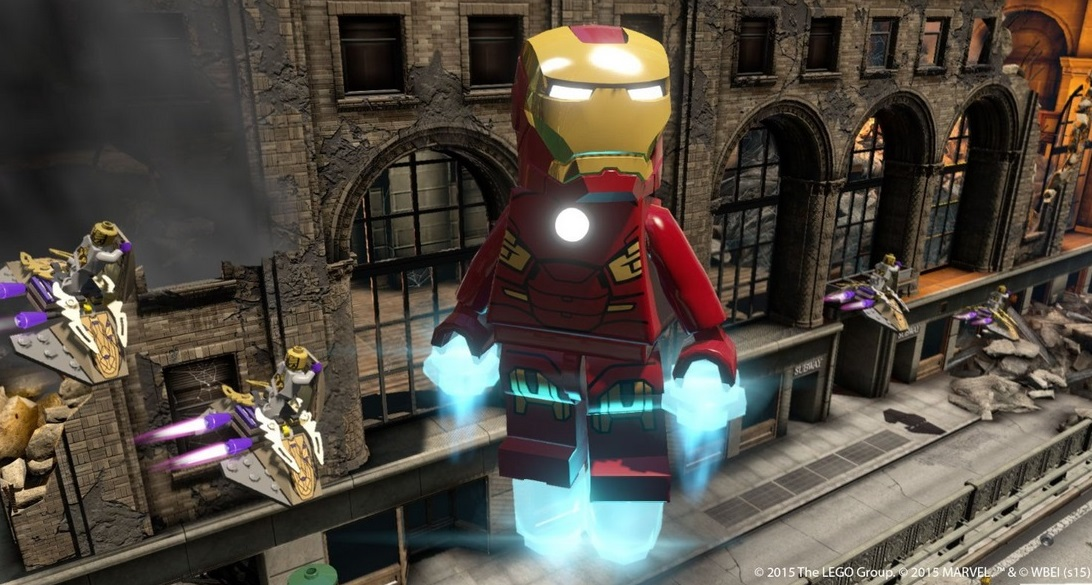 Illustration de l'article sur LEGO Marvel Avengers