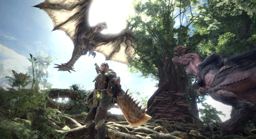 Illustration de l'article sur Monster Hunter World