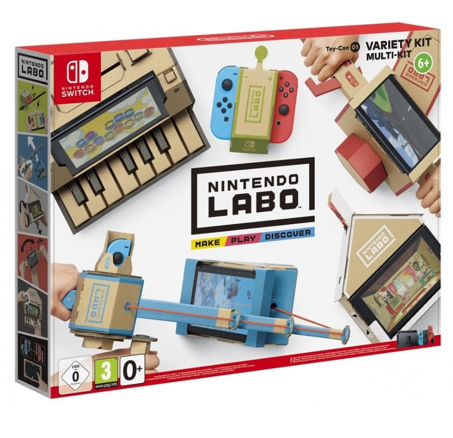 Illustration de l'article sur Nintendo Labo