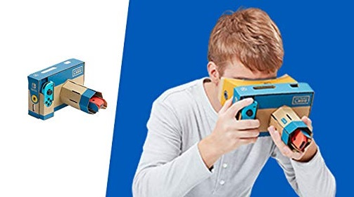 Illustration de l'article sur Nintendo LABO Kit VR