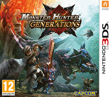 Retrouvez notre TEST :  Monster Hunter Generations  - 17/20