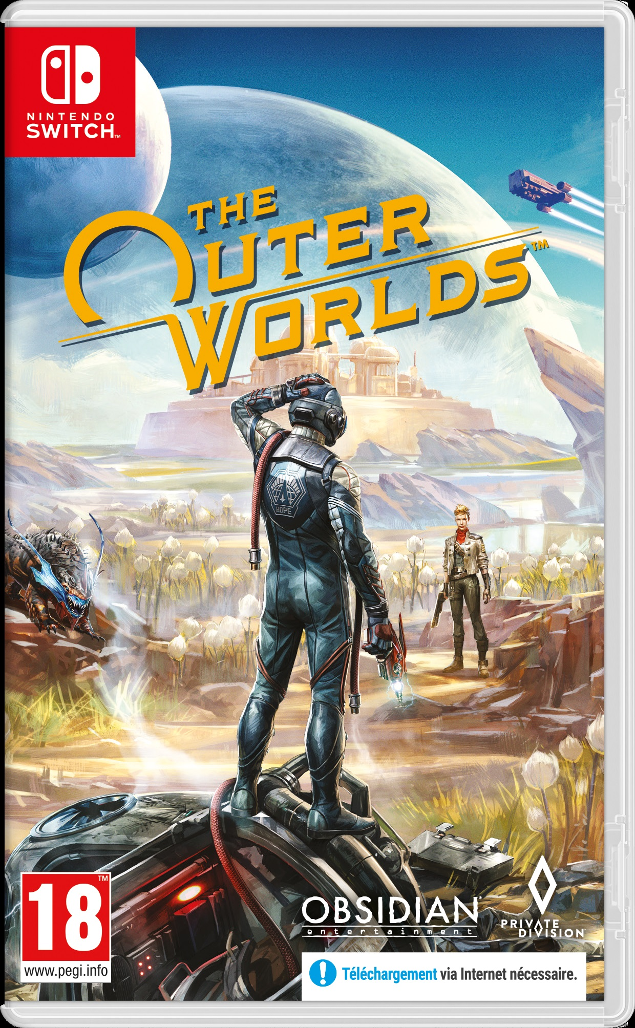 Retrouvez notre TEST : The Outer Worlds - Nintendo Switch