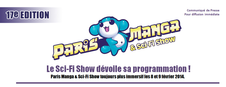 Illustration de l'article sur Paris Manga & Sci-Fi Show