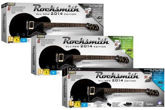 Illustration de l'article sur Rocksmith All-New 2014 Edition
