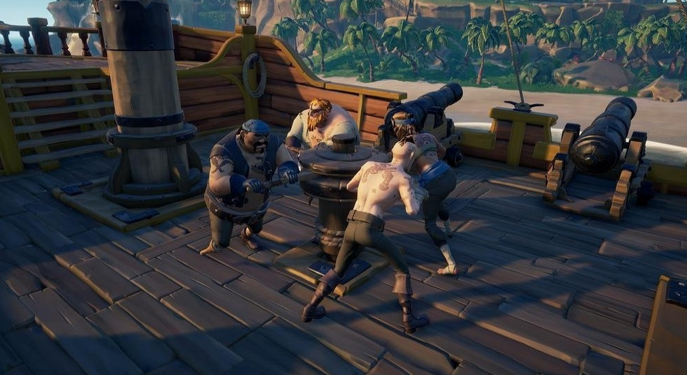 Illustration de l'article sur Sea of Thieves