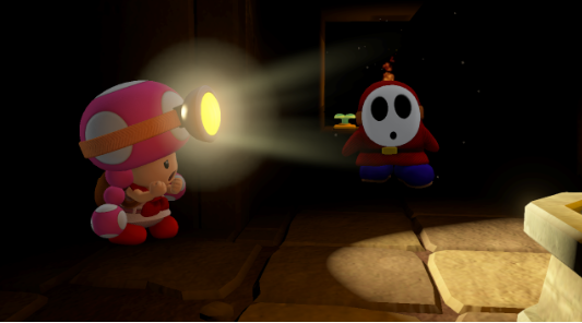 Illustration de l'article sur Captain Toad Treasure Tracker