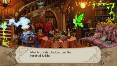 Illustration de l'article sur  The Witch and the Hundred Knight : screenshots et vidéo