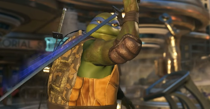 Illustration de l'article sur Mini TEST du DLC Injustice 2 : Tortues Ninja