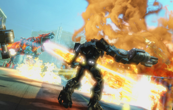 Illustration de l'article sur Activision et Hasbro dévoilent Transformers: The Dark Spark