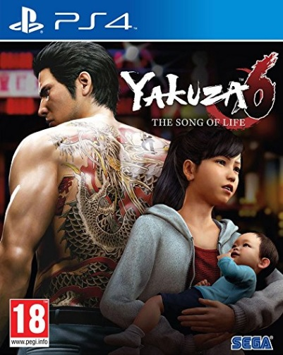 Retrouvez notre TEST : Yakuza 6 : The Song of Life  - 17/20