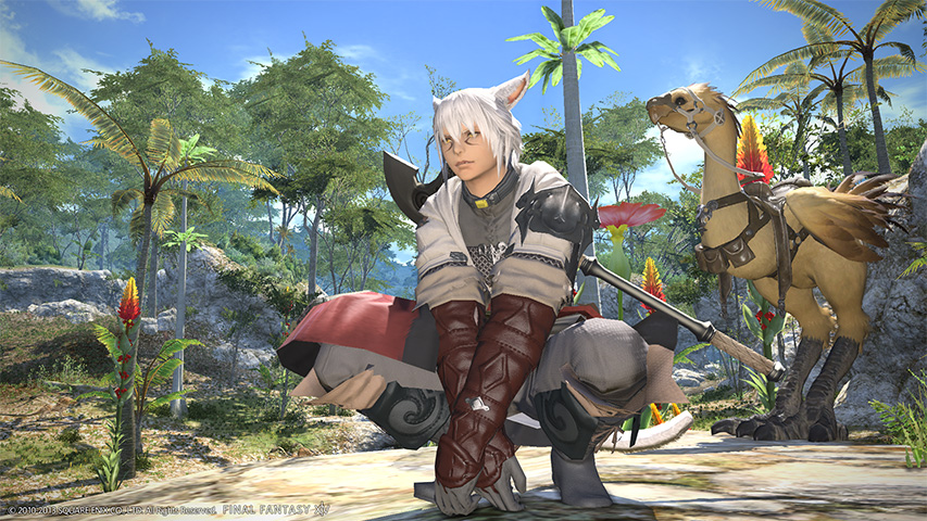 Illustration de l'article sur FINAL FANTASY XIV: A Realm Reborn arrive sur Steam