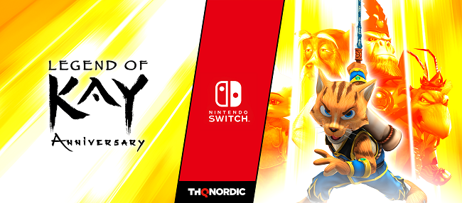 Illustration de l'article sur Legend Of Kay Anniversary arrive sur Switch