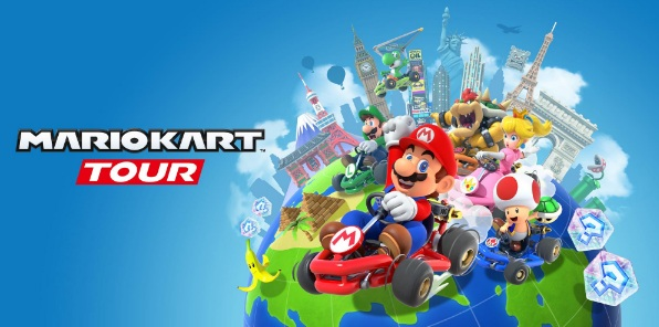 Illustration de l'article sur Mario Kart Tour arrivesur Smartphones