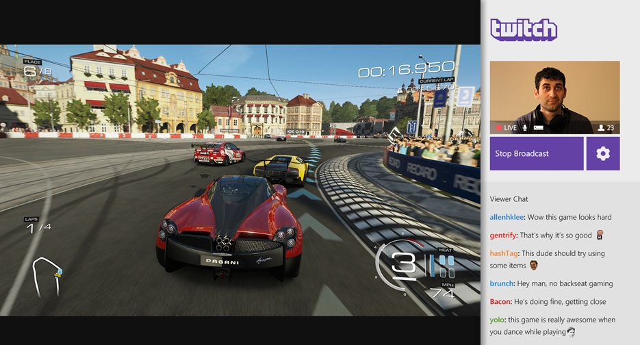 Illustration de l'article sur L'application Twitch arrive sur Xbox One le 11 mars