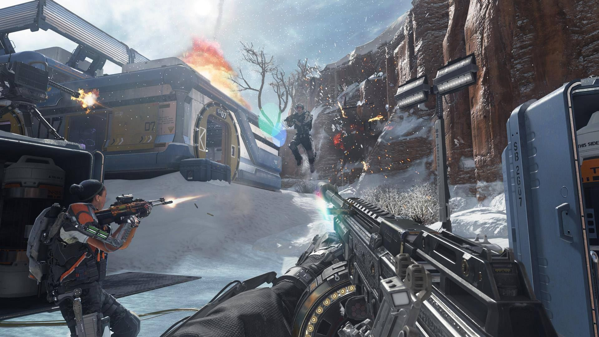 Illustration de l'article sur Nouvelle bande-annonce de Call of Duty: Advanced Warfare