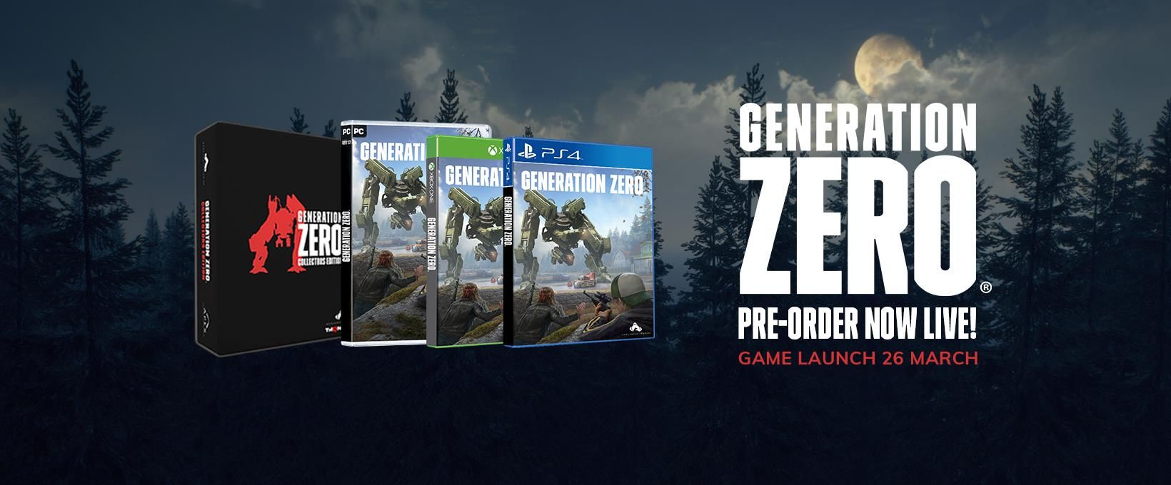 Illustration de l'article sur Generation Zero - THQ Nordic modifie l'Edition Collector