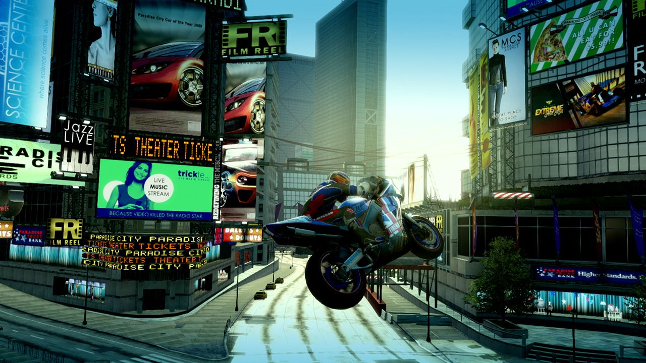Burnout Paradise Remastered<br>Nintendo Switch