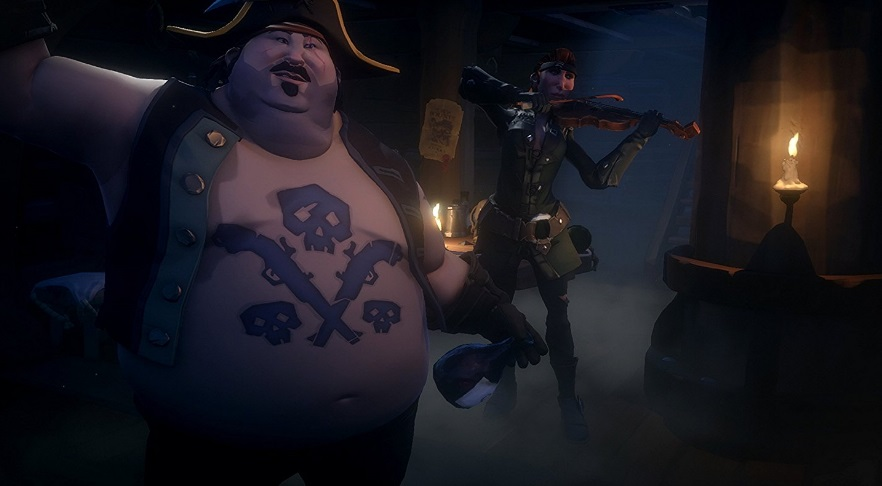 Illustration de l'article sur Sea Of Thieves est disponible