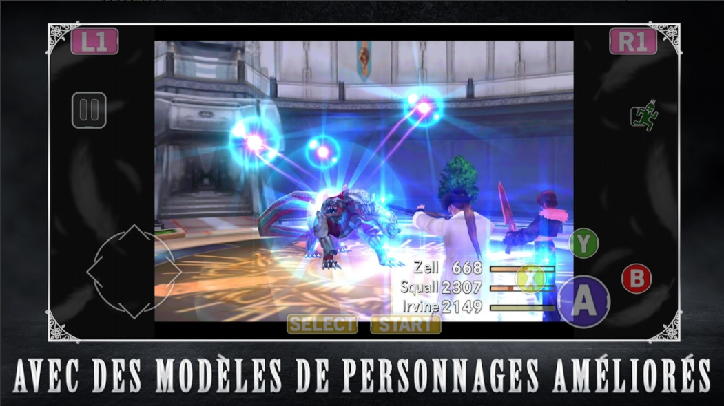 Illustration de l'article sur FINAL FANTASY VIII Remasteredest disponible sur mobiles