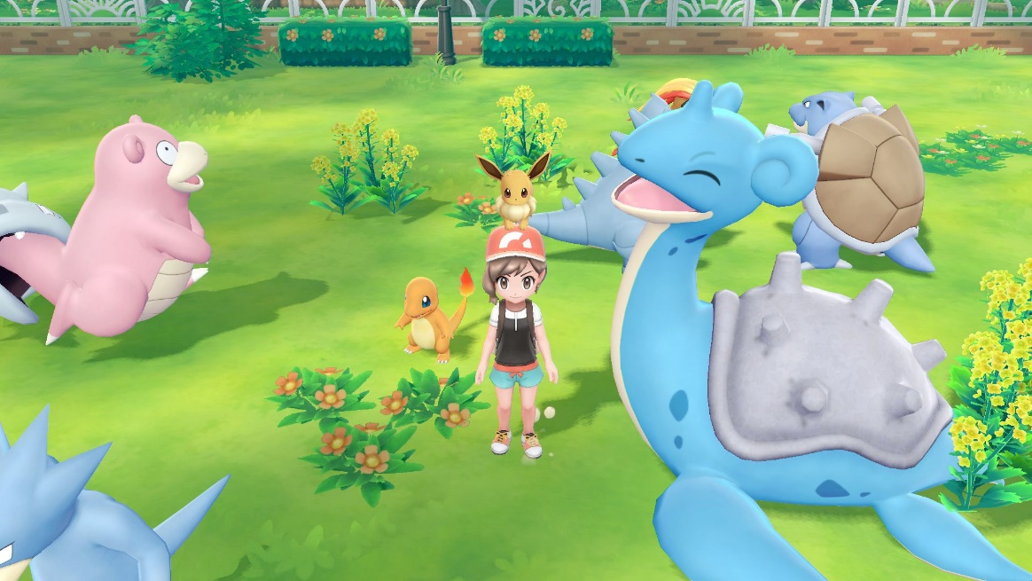 Illustration de l'article sur Pokémon : Let's Go Pikachu et Let's Go Évoli sur SWITCH