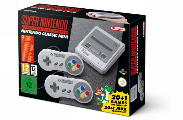 Illustration de l'article sur Nintendo annonce la Super Nintendo Classic Mini
